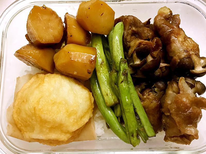 お弁当-170417-韓式醬燒馬鈴薯