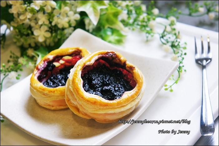 藍莓果醬與藍莓起酥塔的交響曲