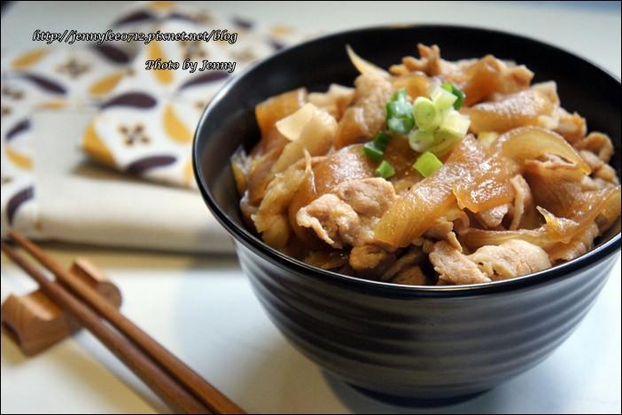 壽喜燒豬肉丼飯