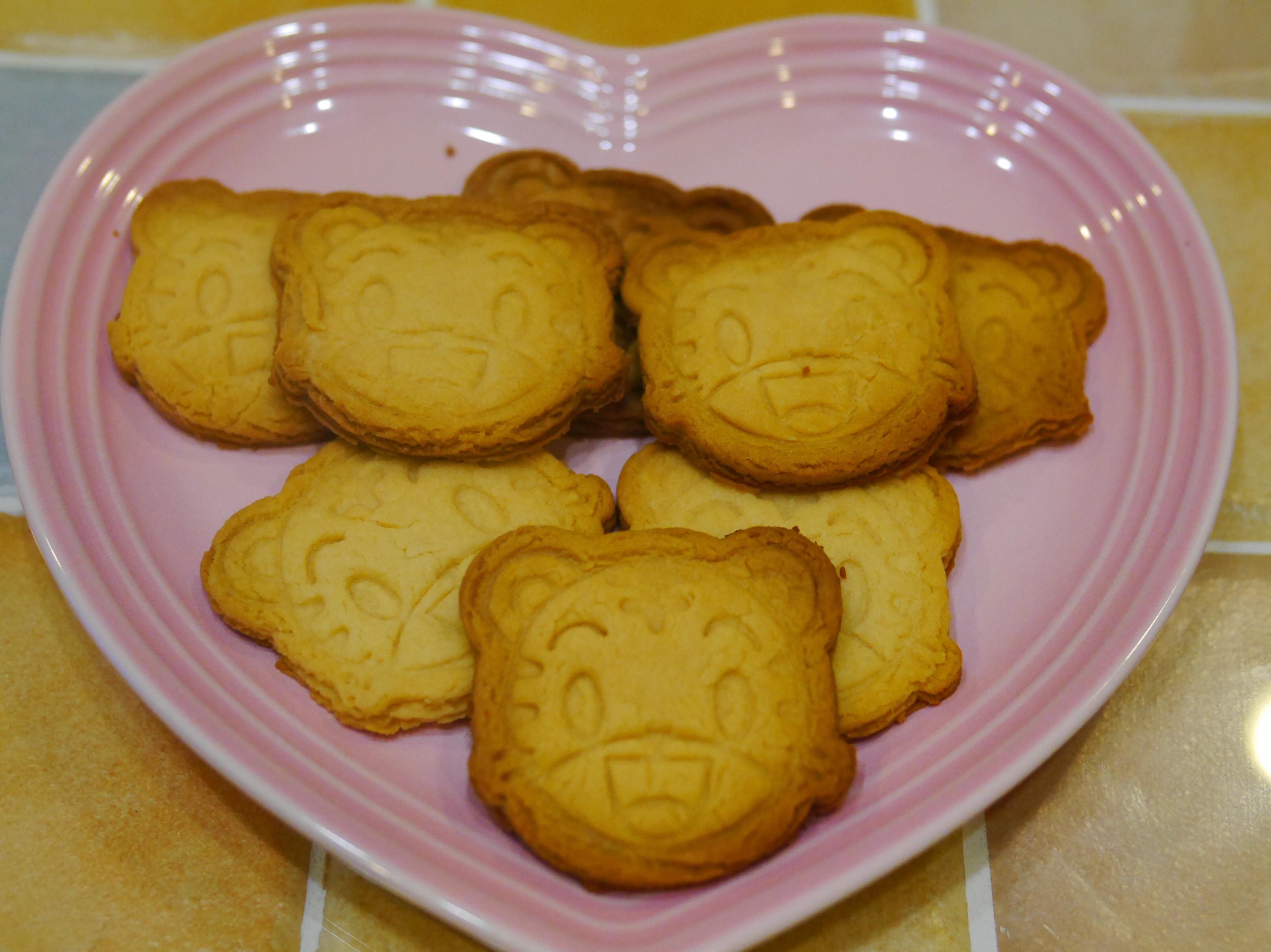 巧虎煉乳手工餅乾