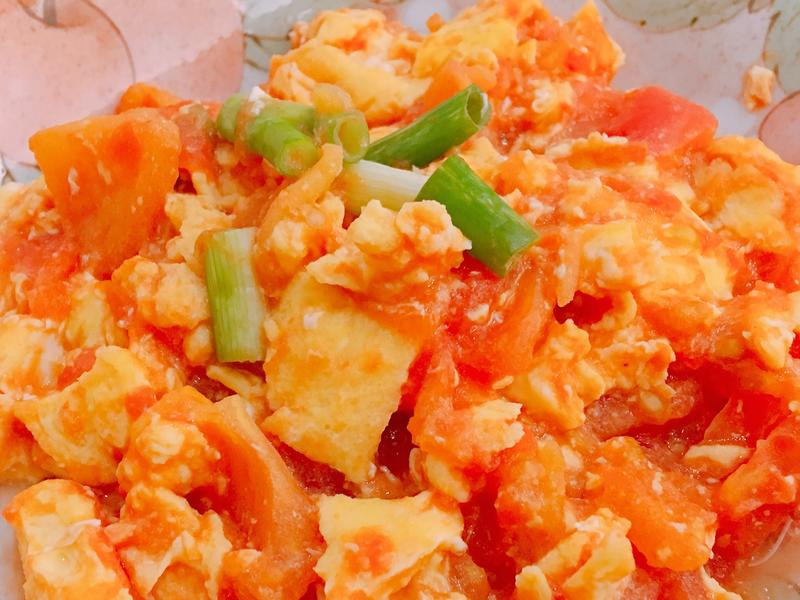 蕃茄炒蛋🍅