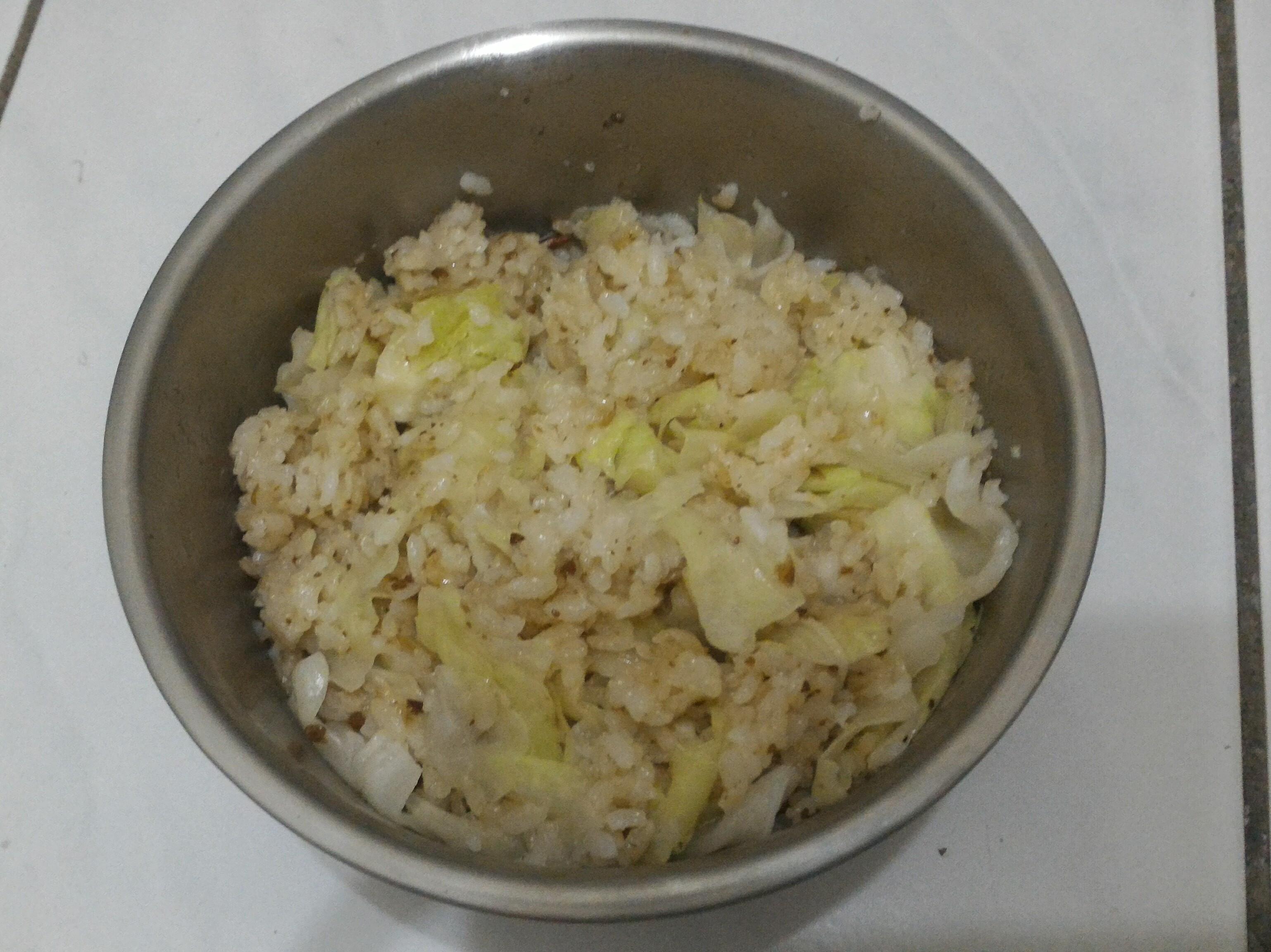 [電鍋料理]高麗菜燉飯