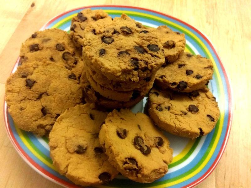 《低醣無奶》巧克力豆餅乾~快速