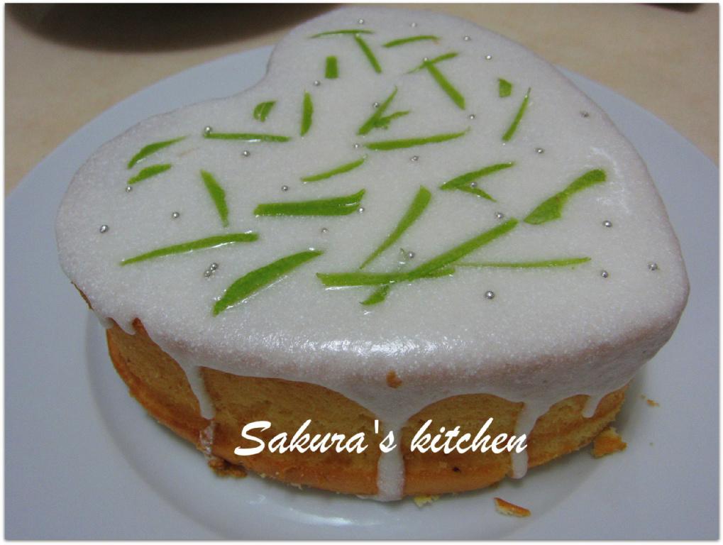 ♥我的手作料理♥檸檬戚風蛋糕