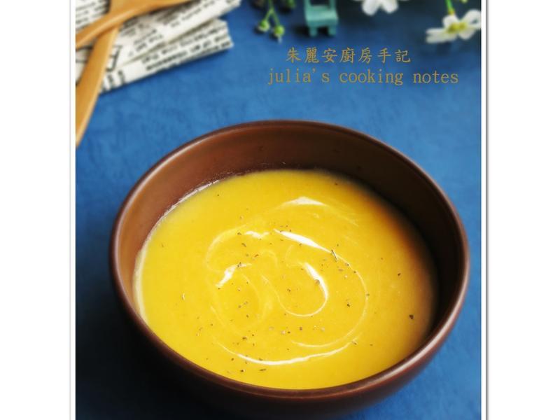 [胡蘿蔔馬鈴薯濃湯]媲美南瓜濃湯