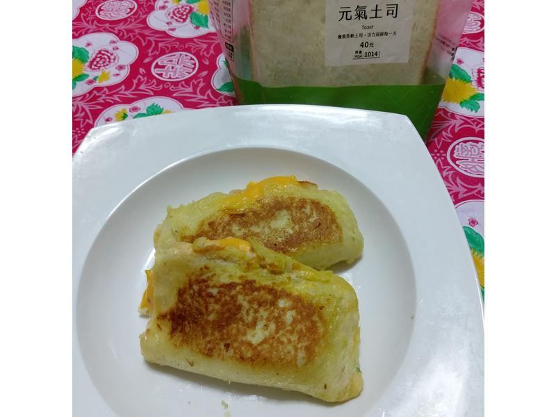 黃金吐司芝士蝦餅【春日瘋野餐】