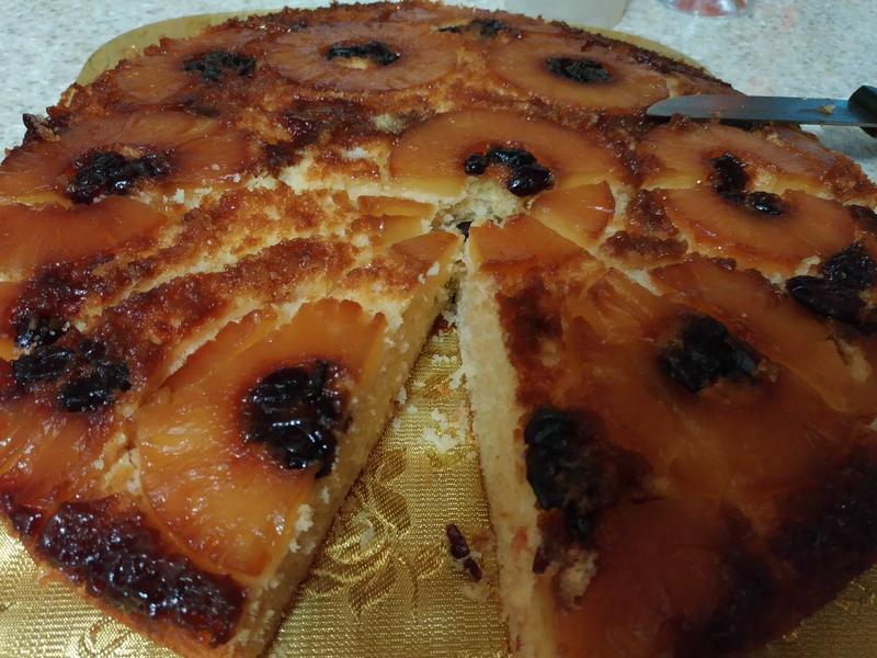 🍍🎂反轉鳳梨蔓越莓蛋糕🎂🍍