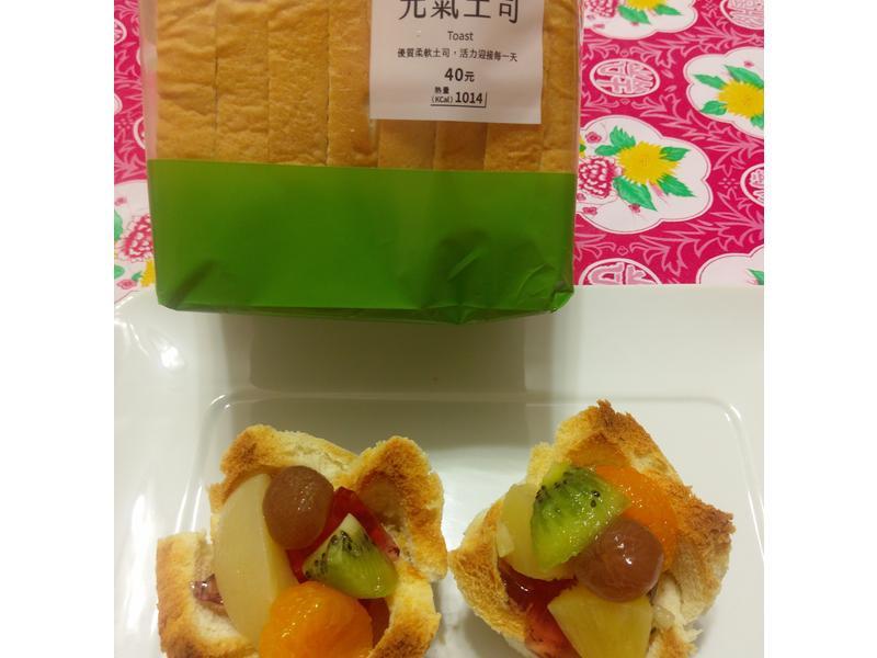 水果Q凍吐司塔【春日瘋野餐】