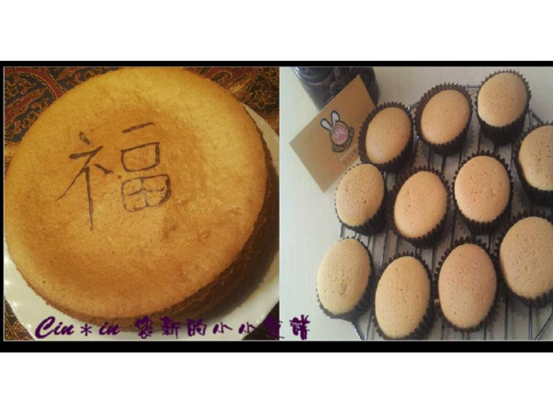 Cin*古早味蜂蜜蛋糕&蜂蜜杯子蛋糕