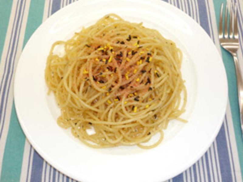 低蛋白料理~鱈魚子義麵(p1.1)