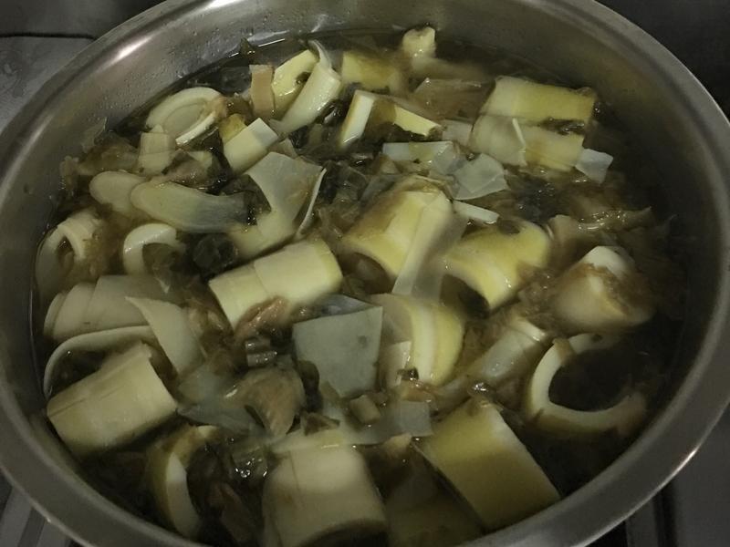 魯桂竹筍湯~全素