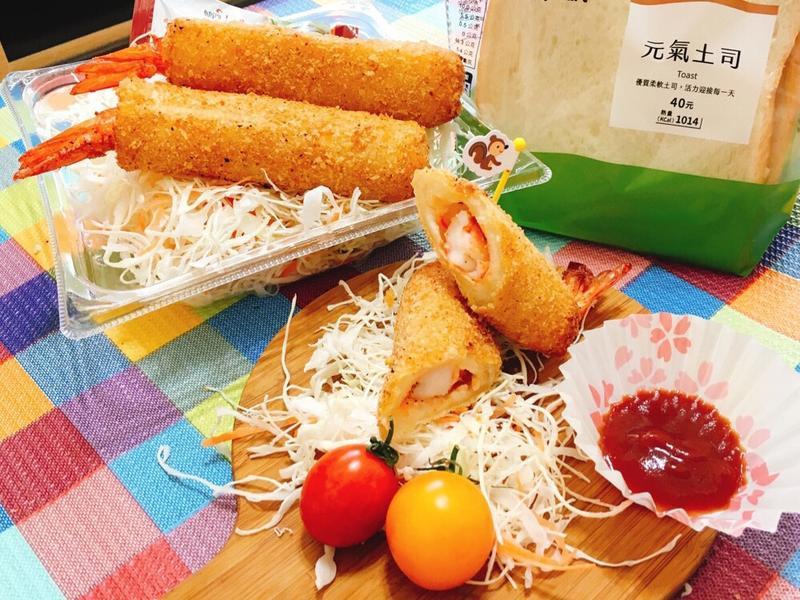 瘋野餐~~日式吐司炸蝦