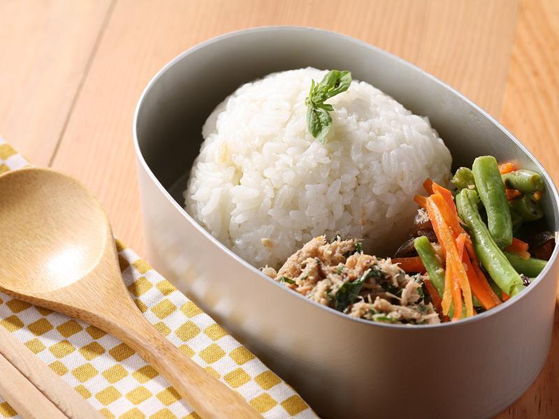 掌廚房.塔香鮪魚飯糰定食