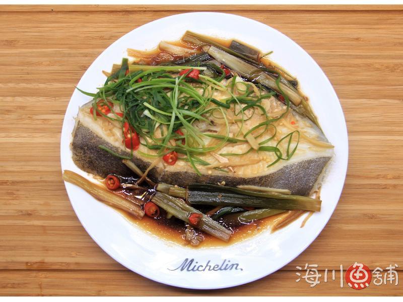 清蒸鱈魚.扁鱈.大比目魚【海川魚舖】
