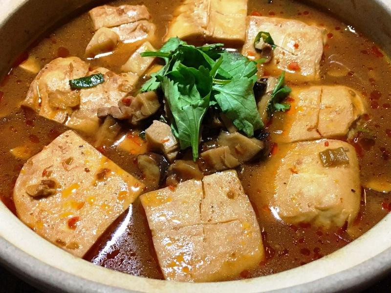 麻辣臭豆腐