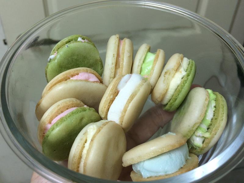 ☁️棉花糖馬卡龍(不用色素也色彩繽紛)
