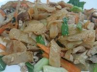 香菇肉絲炒餅