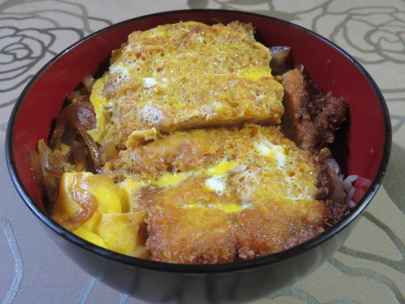日式豬排飯(とんかつ丼)