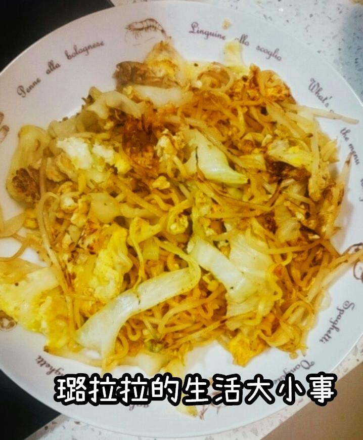 方便又快速好吃的印尼炒麵