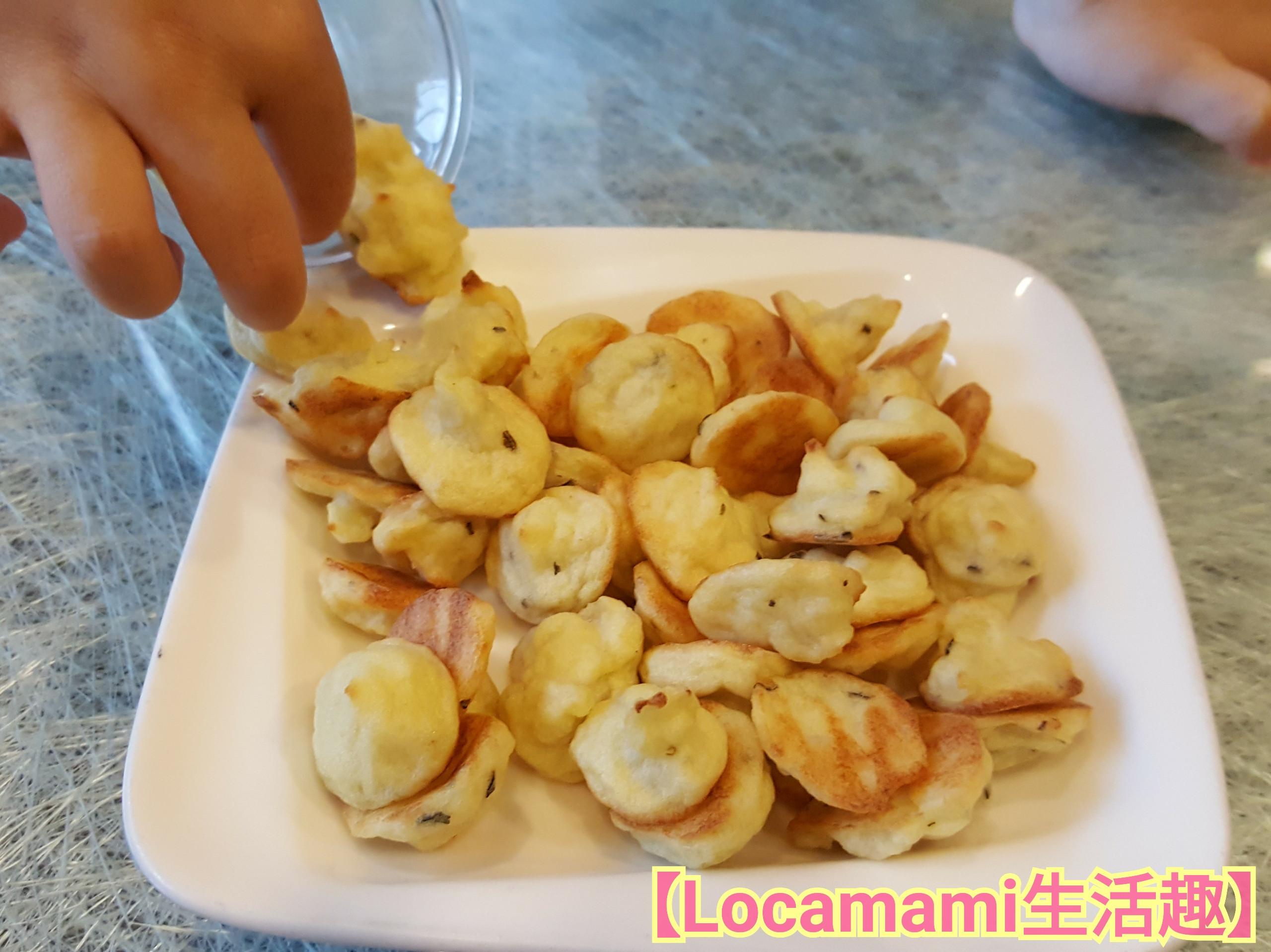 【寶寶食譜】義式香料薯泥餅