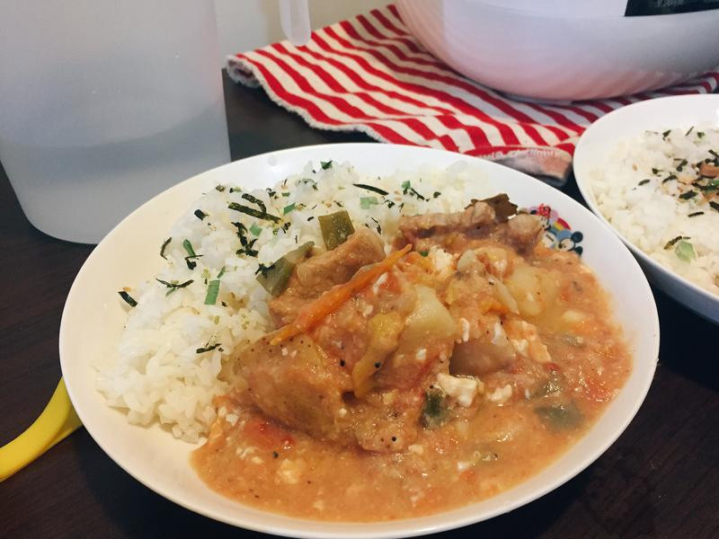 番茄馬鈴薯燉松阪豬feat.花椒