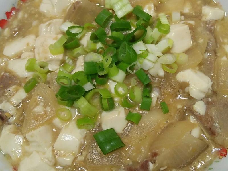 味噌洋蔥悶豆腐
