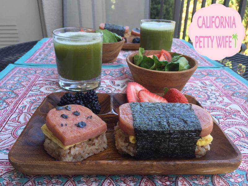 野餐必備-夏威夷特色spam飯糰