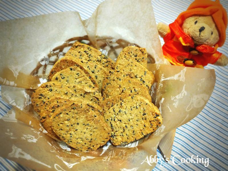 黃豆粉芝麻酥餅