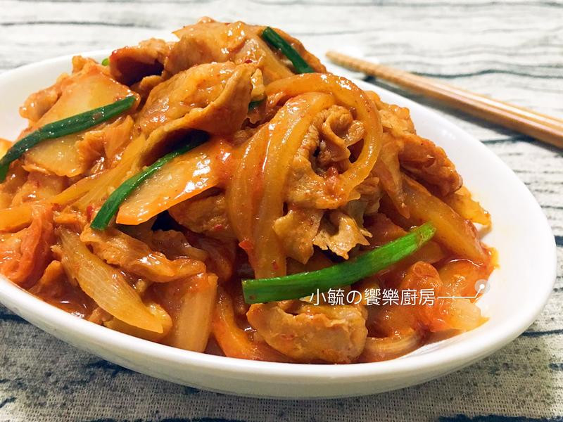 韓式泡菜炒豬肉