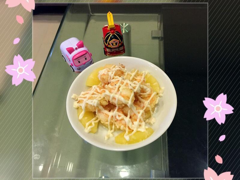 🍤鳳梨蝦球🍍
