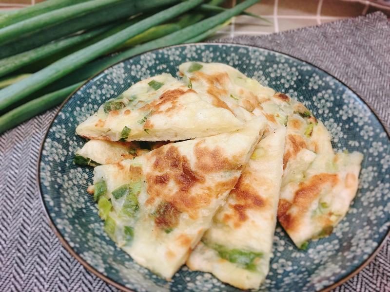 蔥油餅 (厚麵版)