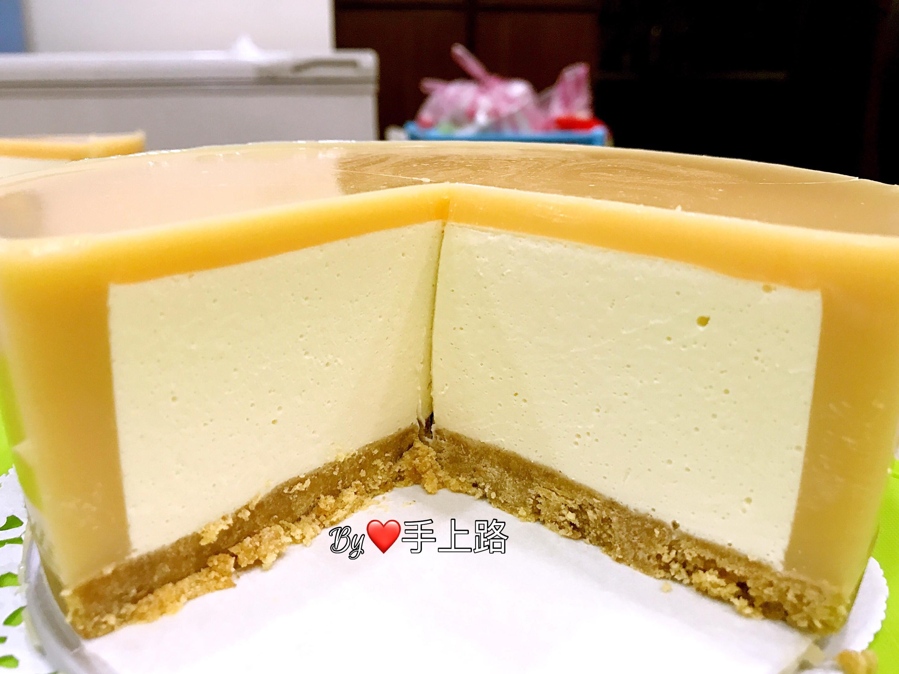 養樂多凍包心乳酪蛋糕(6吋、免烤箱)