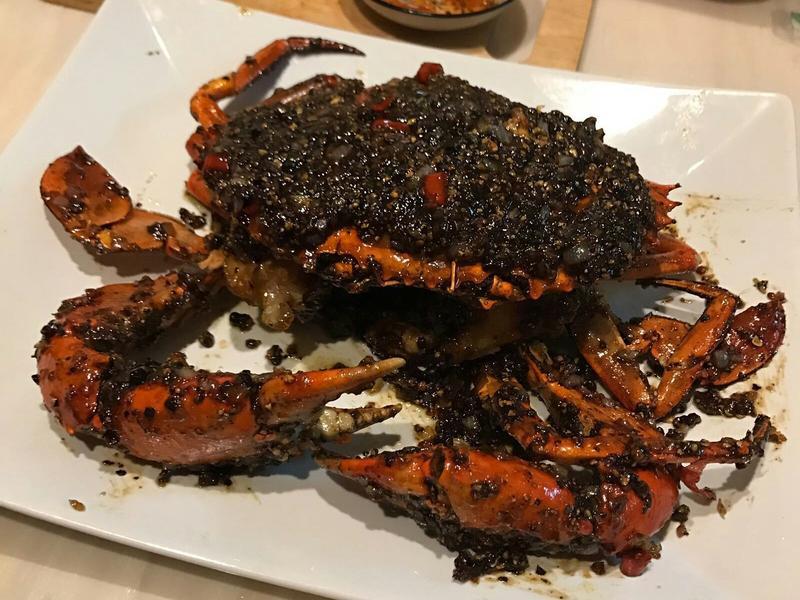 星加坡胡椒蟹