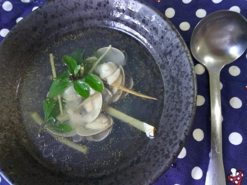 10分鐘上菜─薑絲蛤蜊湯