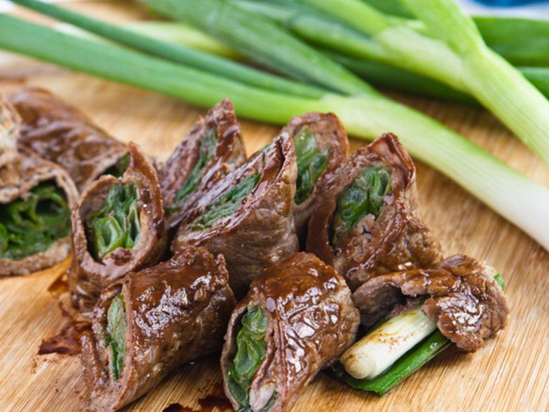 【火鍋片活用術】牛肉蔥捲