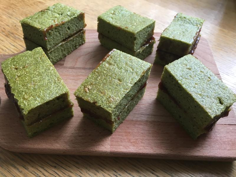 抹茶海綿蛋糕(健康低敏版)