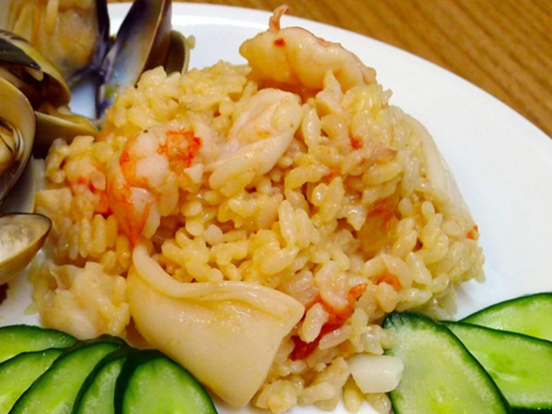 品靚上菜-茄汁海鮮起司燉飯(簡易版)