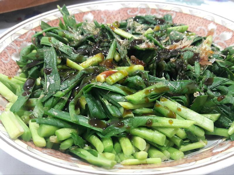 韭菜柴魚片