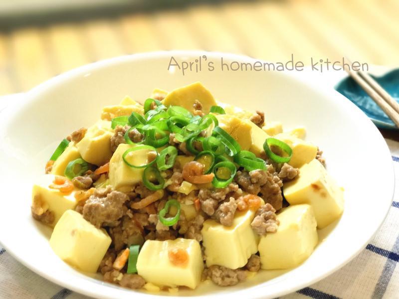 ▫️家常▫️蝦米肉末燴嫩豆腐
