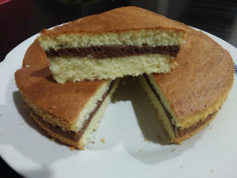 三层海绵蛋糕