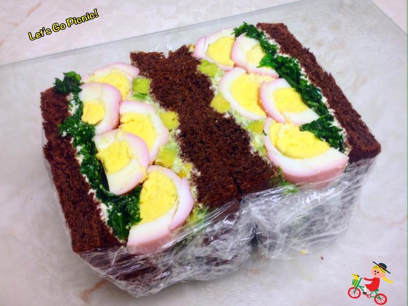 豆腐美乃滋與雞蛋三明治
