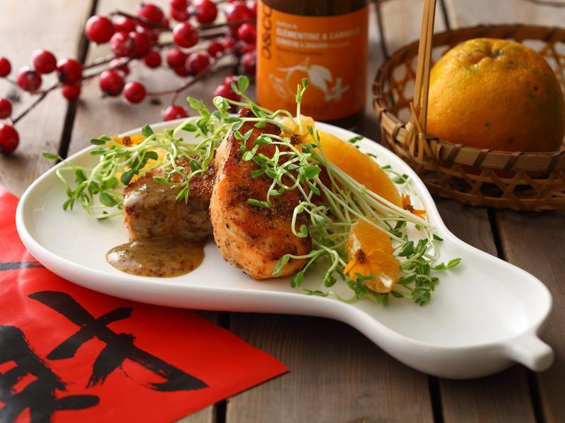 JIA Inc. 芥香橙汁烤鮭魚