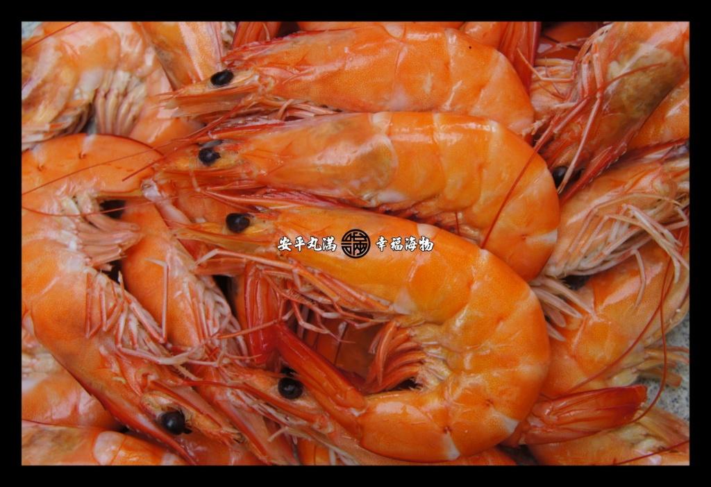 【幸福海物】極簡原味白灼蝦