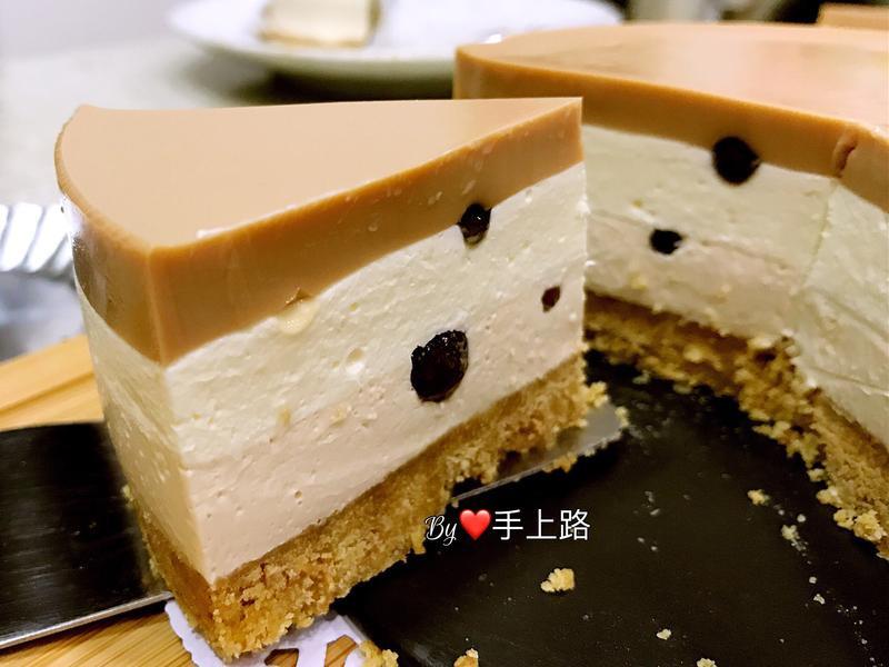 珍珠奶茶凍乳酪蛋糕(5吋、免烤箱)