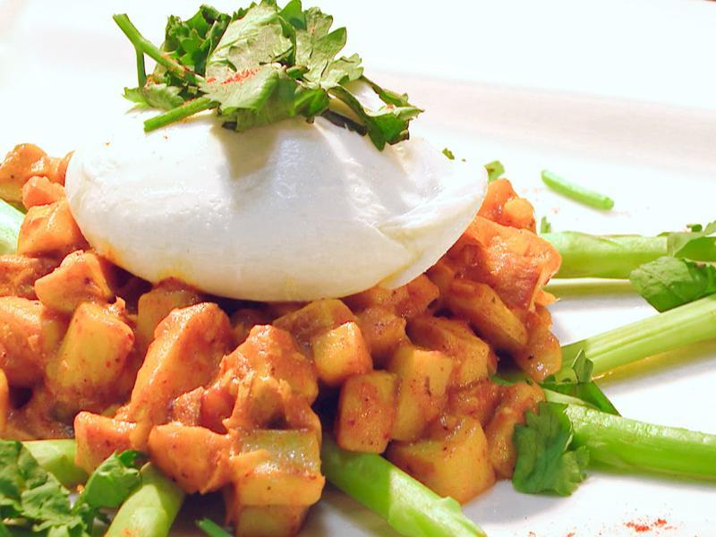 蘆筍咖哩杏菇水波蛋 │ 早午餐計劃