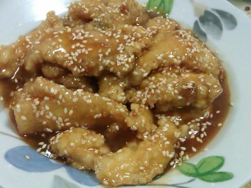 芝麻糖醋魚片