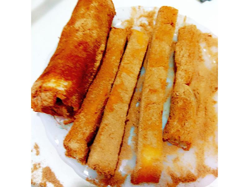 營養滿分黃金奇異果吐司捲(肉桂、可可)