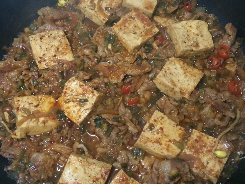 一鍋到底 燉豆腐
