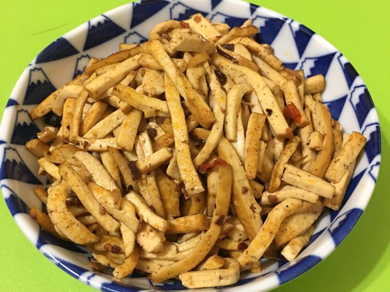 辣炒豆乾絲~全素