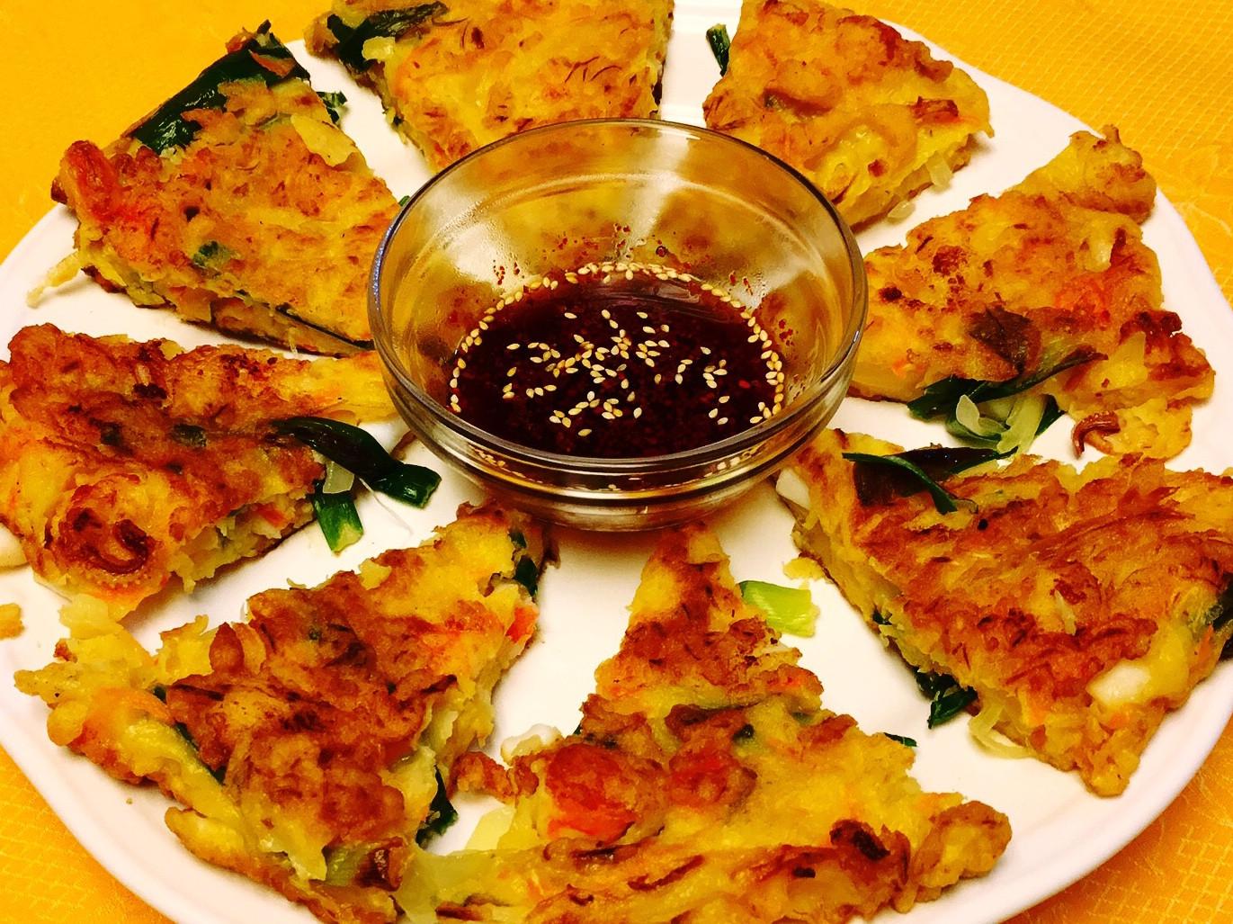 해물전 韓式海鮮煎餅